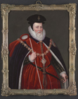 William Cecil, Lord Burghley, after Marcus Gheeraerts by Henry Bone RA
