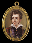 Comte Victor Louis Alfred de Vaudreuil by Henry Bone RA