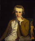 Portrait of an Artist c.1775, possibly a Self-Portrait by William Doughty