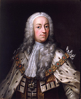 Portrait of King George II by Barthelemy Du Pan
