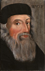 John Wycliffe by  English School