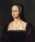 Anne Boleyn by  English School