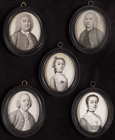 Members of the 'Fuller' and 'Symonds' families by James Ferguson
