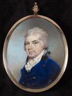Portrait miniature of Henry Godfrey Faussett by N. J. T. Freese