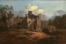 Landscape with a Ruined Castle by Thomas Gainsborough RA