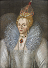 Queen Elizabeth I by Follower of Marcus  Gheeraerts the Younger