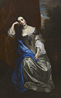 Barbara Villiers, Duchess of Cleveland by Thomas Gibson