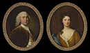 Eliab Harvey and his mother, Mary Harvey by Thomas Hudson (1701-79) and  Charles D'Agar (1686-1761)