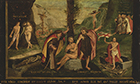 Allegory of the Old and New Law by Hans  Holbein, Follower of