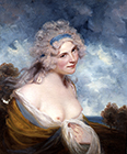 Lady as a Bacchante by John Hoppner RA