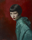 A Young Chinese Girl by David  Jagger