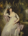 Portrait of Sally Siddons by Sir Thomas Lawrence PRA