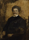 Johann Strauss the Younger by Franz von Lenbach