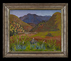 Foothills of the Atlas by Cedric Morris