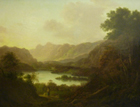 A View of Langdale Pikes by Attributed to F.  Smith