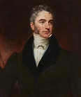 Portrait of The Hon. William Lamb, MP by Henry William Pickersgill