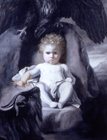 The Infant Jupiter by Sir Joshua Reynolds PRA