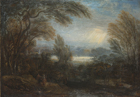 A view across the Thames from Richmond Hill by Sir Joshua Reynolds PRA, Follower of