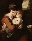 Virgin and Child by Sir Joshua Reynolds PRA