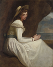 Study of Emma Hamilton, 'Absence' by George Romney