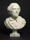 Portrait Bust of William Shakespeare by After Louis Francois  Roubiliac (1695-1762)