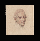 Portrait miniature drawing of a Gentleman by John Smart