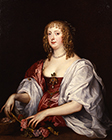 Lady Dysart, first Lady of Ham House by Sir Anthony Van Dyck