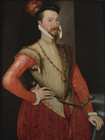 Robert Dudley, Earl of Leicester by  English School c.1650