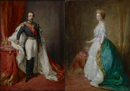 Louis-Napoleon Bonaparte, Emperor Napoleon III and his wife the Empr by Franz Xavier Winterhalter & Studio