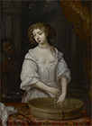 Portrait of Nell Gwyn by  Anglo-Dutch School