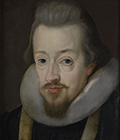 Robert Cecil, 1st Earl of Salisbury by Studio of John de Critz the Elder