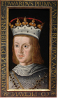 King Edward I by Renold Elstrack, or after
