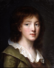 A Young Boy by John Baptiste Greuze