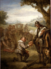 Don Quixote and the galley slaves by John Vanderbank