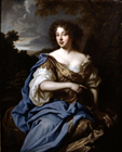 A courtesan formerly called Nell Gwynn by Studio of Sir Peter Lely