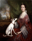 Elizabeth Jackson, Mrs Morton Pleydell by Thomas Gainsborough RA