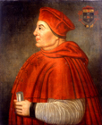 Cardinal Wolsey by  English School