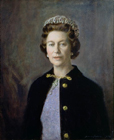 HM Queen Elizabeth II by Robert Norman Hepple