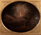 Vesuvius erupting by Joseph Wright of Derby ARA