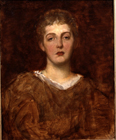 May Wedderburn by George Frederic Watts