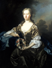 Lady of the Linlithgow family by Allan Ramsay