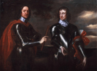 Oliver Cromwell and John Lambert by Studio of Robert Walker