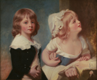 Lord Warwick's children by George Romney