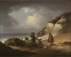 Fishermen unloading their catch by George Morland