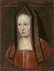 Queen Elizabeth of York by  English School