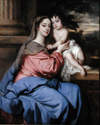 The Duchess of Cleveland and her son by Sir Peter Lely