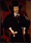 King Charles I at his trial by Edward Bower, After