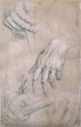 Hand Study by Sir Godfrey Kneller Bt.