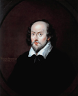 William Shakespeare by  English School