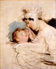 Mrs John Angerstein and son by Sir Thomas Lawrence PRA